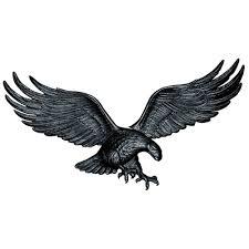black wall eagle