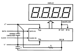 mm liquid crystal display lcd drivers circuit diagram and mm5452 liquid crystal display lcd drivers circuit diagram and datasheet