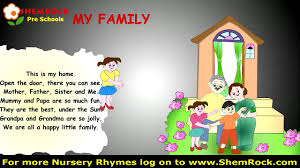 nursery rhymes my family songs lyrics