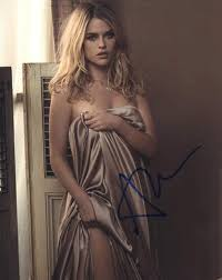 HOT SEXY ALICE EVE SIGNED 8X10 PHOTO AUTHENTIC AUTOGRAPH STAR TREK ...