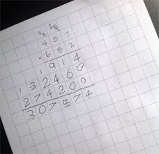Use Graph Paper To Make Multiplication And Long Division