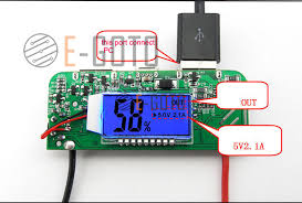 dual usb 5v 2 1a 1a mobile power bank charger pcb board boost step do not exceed 450 000 ma on the line