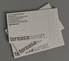 Letter Press Business Card Show Your Depth 50 Letterpress Business Cards Paste