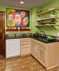 green kitchen wall art