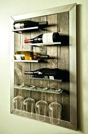 small wooden wine rack plans wood under cabinet wine glass rack