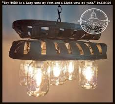 jar lighting fixtures. Tobacco Basket 5-Light Mason Jar CHANDELIER Lighting Fixtures H