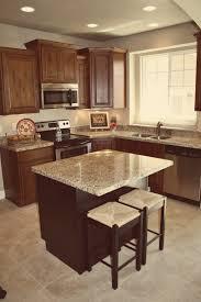 Dark Brown Kitchen Cabinets Dark Knotty Alder Kitchen Cabinets Quicuacom