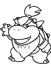 Awesome Mario Kart Bowser Coloring Pages Teachinrochestercom