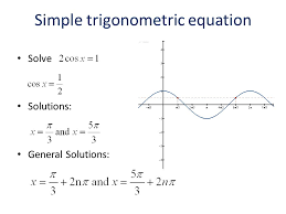5 3 solving trigonometric equations ppt