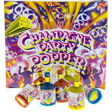 Harley Davidson Party Decorations Champagne Party Poppers Noise Makers Box Of 72 Party Supplies