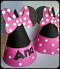 innie mouse party hats