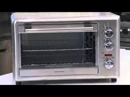 hamilton beach toaster oven countertop oven with convection and rotisserie 31103a you