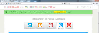 how to enable javascript guides to enable activate javascript javascripton com