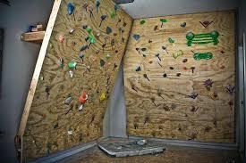 build a climbing wall home outdoor climbing wall the home how to build a rock climbing