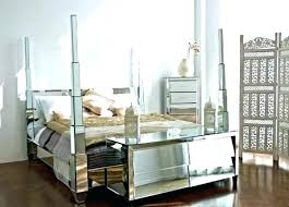 Mirrored Canopy Bed Ceiling Living Room Set Furniture Ideas Side For ...