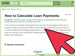 Image Titled Calculate A Balloon Payment In Excel Step 1 Loan ...