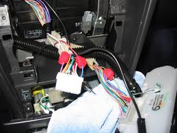 gauge installation electrical wiring tips and pics defi and others as you can see in the picture the gauges control box are wired into the following wires three go to the radio harness and one to the a c harness