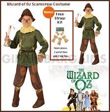 wizard of oz scarecrow kids book week costume s um gifts n bargains