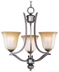 maxim 10174wsoi madera 3 lamp mini oil rubbed bronze chandelier loading zoom