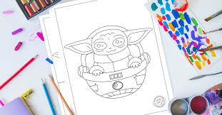 Facebook is showing information to help you better understand the purpose of a page. The Most Adorable Baby Yoda Coloring Pages For Kids