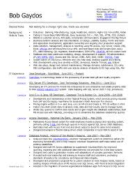 Simple Not Looking For A Change Right Now For Data Analyst Resume