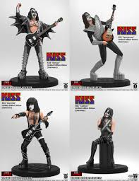 figurines set kiss rock icon
