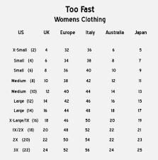 Size Conversion Chart Dress Shirts Dreamworks