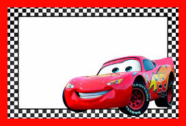 cars lightning mcqueen printable template free printable throughout awesome cars invitation template