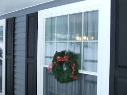 how to hang wreaths from windows
