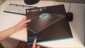 Обзор игрового <b>коврика Logitech G440</b> Gaming Mouse <b>Pad</b> ...