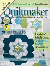 Hexagon Graph Paper | Quiltmaker May/june '13 | Quiltmaker - The ...