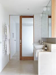 Inspiration for a contemporary bathroom remodel in Brisbane with a vessel  sink and white walls