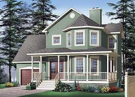 Classic Porch and Bay Windows - 21570DR   Architectural Designs - House  Plans