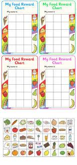 Twinkl Resources My Food Reward Chart Classroom