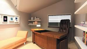 personal office design.  design office with personal touch on design e