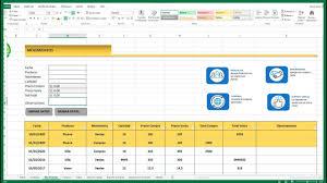 Inventario Excel Como Hacer Un Inventario De Entradas Y Salidas En Excel Parte Ii