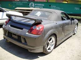 2003 Toyota MR-S Pictures, 1800cc., Gasoline, FR or RR, Manual For ...