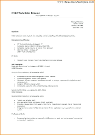 Hvac Installer Resume Resume Examples Resume Samples Is One Of The