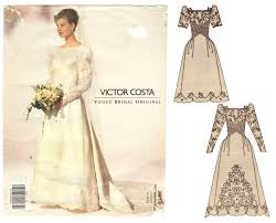 Vogue Bridal Patterns Interesting Design