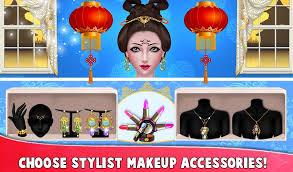 chinese fashion doll dressup makeup salon