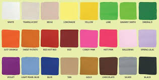 Sculpey Iii Color Chart Red Candy Polymer Clay Hot Pink