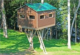 Treehouse Plans And Designs Free