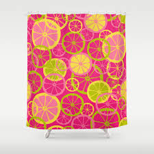 Pink Lemonade Designs Pink Lemonade Shower Curtain