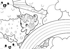 Unicorn Rainbow Coloring Pages Coloring Star Wars Coloring Pages Free Printable Coloring Book