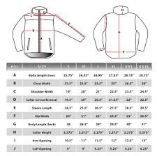 Winter Jacket Size Chart Discountersmall