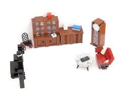 Minifig furniture - living room