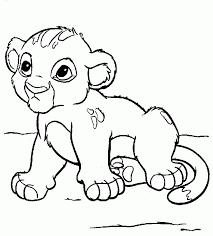 Coloriage Le Roi Lion Les Beaux Dessins De Disney Imprimer Et Coloriage A Imprimer Le Roi Lion Gratuit L