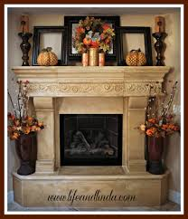 decorating fireplace mantels with candles
