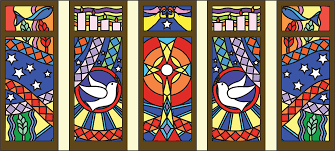 Stainglass window designs Flower Henningers Matisse Inspires Pupils Stained Glass Window Design