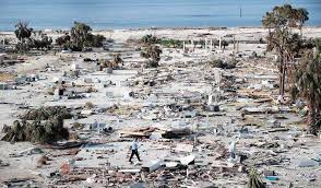Hurricane Michael Size Chart Hurricane Michael Brought Water Levels Over 20 High To The